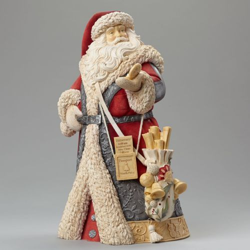 Heart of Christmas - Masterpiece Santa with Compass